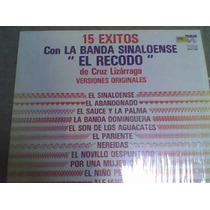Disco Lp Banda Sinaloense El Recodo
