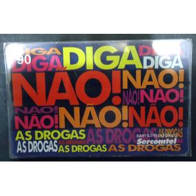 Cartão Sercomtel 90 Cr - Diga Não Às Drogas 10mil 1998 Raro