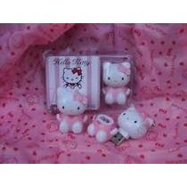 Remate Pendrive 2 Gb De Hello Kitty Perocontenta