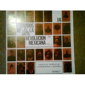 Disco Acetato De: Corridos De La Revolucion Mexicana Inah