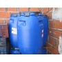 Tacho Tanque Tambor De 200 Litros De Plástico Azul