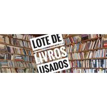 Lote 20 Livros Kit Literatura Brasileira - P/sebo, Leitores