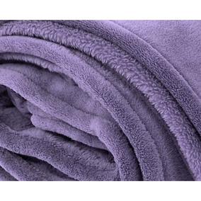 Cobertor Zelo Microfibra Solteiro - Alfazema