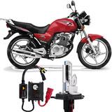 Kit Xenon Moto Suzuki Yes Lampada 8000k H4-2 Farol Alto/baix