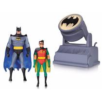 Batman The Animated Series Batman & Robin Com Bat-signal