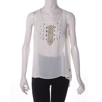 Blusa Color Crema Cecico