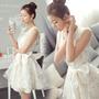 Vestido Blanco Comunion Confirmacion Pedida Matri Xs Y S