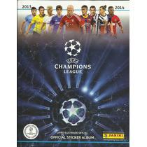Álbum Uefa Champions League 2013/2014 Completo Ótimo Estado