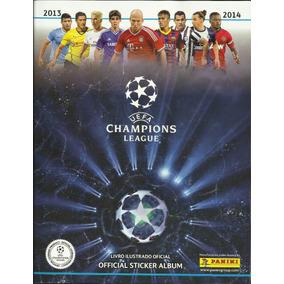 Álbum Uefa Champions League 2013/2014 Completo Fig. Coladas