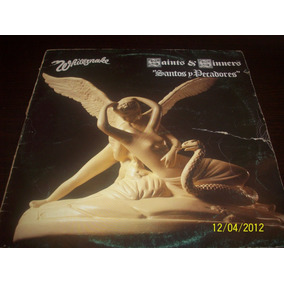 Whitesnake Saints & Sinners Vinyl Lp 1982 Sunburst Records