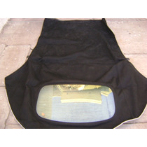 Capota Beetle Cabrio Original Negra Incluye Cielo Interior