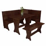Esquinero Juego De Comedor Rinconero +mesa+banco 80-1234