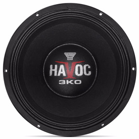 Woofer Oversound Havoc 12-3k0 12 Polegadas 1500w Rms 4 Ohms