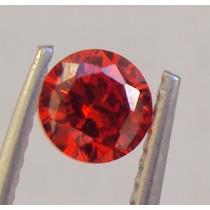 Zirconias Cor Rubi Vermelho De 5mm 10 Pedras R$35,00