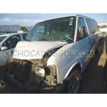 Chevrolet Express Van 15 Pas. 2014..siniestrado Para Reparar