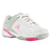 Zapatillas Le Coq Sportif Drive Niños Blanco/rosa
