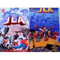 Jla El Mundo Sin Adultos / Dc Comics Liga De La Justicia