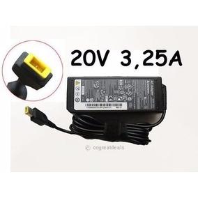 Cargador Para Lenovo 20v 3.25a B50 G50 T440 T450 Yoga 13 X1