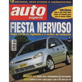 Auto Esporte Nº444 Fiesta Corsa Hatch 1.8 Peugeot 307 Laredo