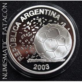 Moneda Plata Mundial Alemania Proof 2003 - Certificado Bcra