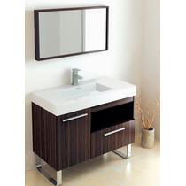 Mueble Baño Gabinete Lavabo Espejo Madera Gb 2095 29 Gravita