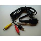 Cable Usb Audio Video Sony Dsc-w275 W240 T500 T900 W210 W215