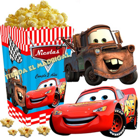 Kit Imprimible Cars Candy Bar Y Cotillon Golosinas 2x1