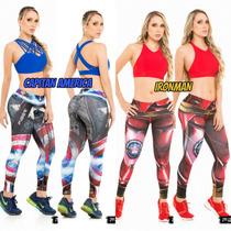 Lycras Deportivas Fiber_venezuela Importadas, Gym, Leggins