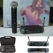 Microfone Shure Pgx24 Beta 58 Sem Fio Frete Gratis S/ Juros