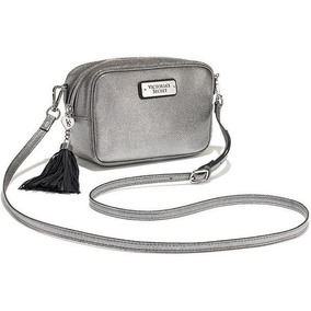 Bolsa Prata Cross Body Victoria