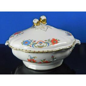 Sopera Porcelana Francesa Limoges Colección Damon Años 80