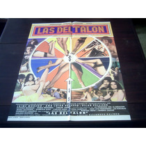 Poster Original Las Del Talón Ana Luisa Pelufo Galindo 1978