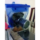 Bolsa Aquática Para Câmera Profissional - Nikon Canon Sony