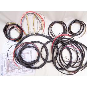 Chicote Fusca Completo Novo 1300/1500/1600+esquema Colorido