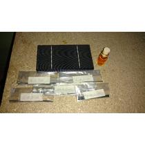Kit Celdas Solares Policristalinas Para Panel 60 Watts