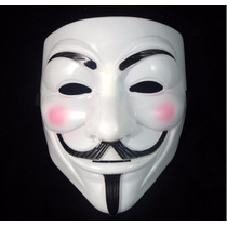 Mascara Anonymous V Vendetta Fiesta Disfraz Economica