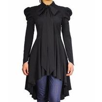 Vestido Estilo Merlina Gotico Talla L Y Xl