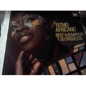 Disco Acetato De Ritmo Africano Bert Kaempfert Y Su Orquesta