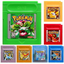 Pokemon Yellow Red Blue Green Gold Silver Crystal Game Boy
