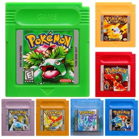 Pokemon Yellow Red Blue Green Gold Silver Crystal Gbc Unidad