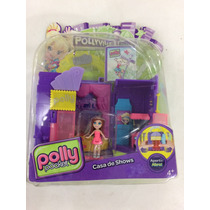 Boneca Polly Pocket Casa De Shows Cbd83(original Mattel)