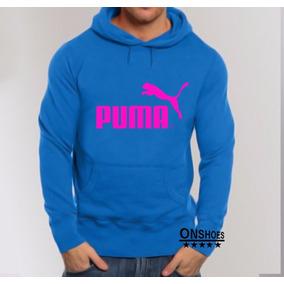 Blusa Puma Moletom Canguru Unissex Personalizada