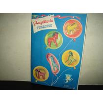 Antiguo Álbum De Muñecos Y Animales De Tela # 1 - 40
