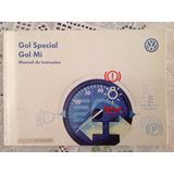 Manual Do Proprietário-volkswagen Gol Special - Gol Mi 1999