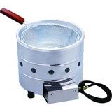 Fritadeira Tacho Salgados Fritura Gás 3 Litros Aço Inox
