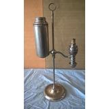 Antigua Lampara De Los Años 1870`s Manhattan Brass