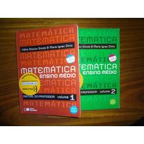 Matemática Kátia Stocco Vol.1 E Vol.2 - Livro Prof - Novos!