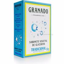Kit 12 Sabonetes Em Barra Granado Glicerina Tradicional 90g