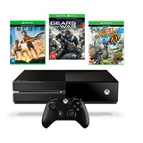 Xbox One 500 Gb + Gears Of War 4 + Recore