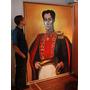 Cuadro Pintura De Simón Bolívar - Para Instituciones.